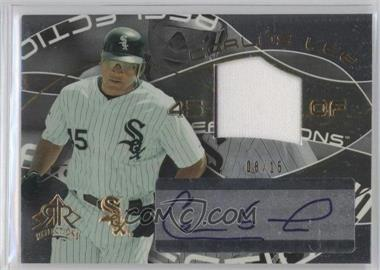 2004 Upper Deck Reflections Gold #313 - Carlos Lee /15