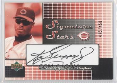 2004 Upper Deck Signature Stars Series 2 Black Ink #SS-KG - Ken Griffey Jr. /450