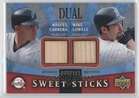 Miguel Cabrera, Mike Lowell /100