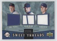 Greg Maddux, Kerry Wood, Mark Prior /99