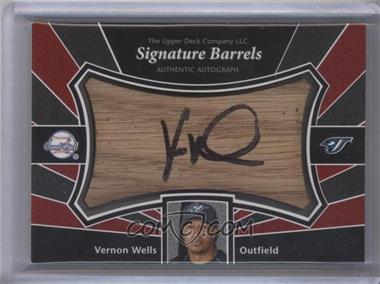 2004 Upper Deck Sweet Spot Signatures Barrels #SS-VW - Vernon Wells