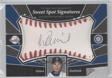 2004 Upper Deck Sweet Spot Signatures #SS-IS - Ichiro Suzuki