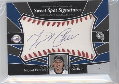 2004 Upper Deck Sweet Spot Signatures #SS-MC - Miguel Cabrera