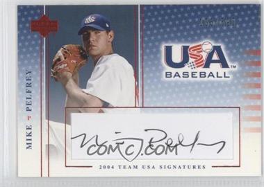 2004 Upper Deck USA Baseball [???] #S-35 - Miguel Perez /595
