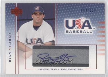 2004 Upper Deck USA Baseball National Team Alumni Signatures Blue Ink #RG - Ryan Garko