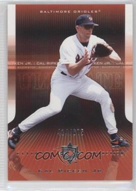 2004 Upper Deck Ultimate Collection - [Base] #8 - Cal Ripken Jr.
