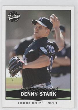 2004 Upper Deck Vintage - [Base] #137 - Dennis Stark