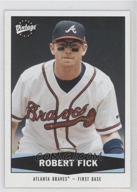 2004 Upper Deck Vintage - [Base] #219 - Robert Fick