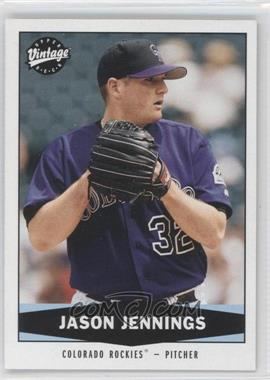 2004 Upper Deck Vintage #127 - Jason Jennings
