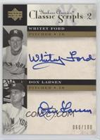 Whitey Ford, Don Larsen /100