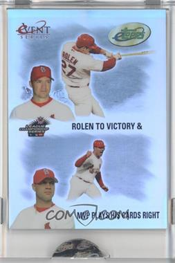 2004 eTopps Event Series #PSES-8 - Scott Rolen, Albert Pujols