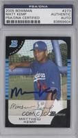 Matthew Kemp [PSA/DNA Certified Auto]