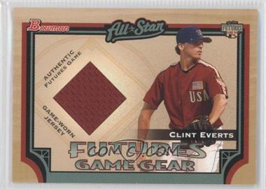 2005 Bowman - Futures Game Gear #FGG-CE - Clint Everts