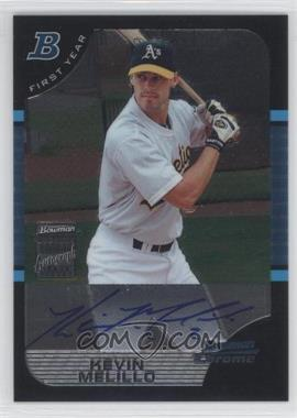 2005 Bowman Chrome - [Base] #333 - First Year Autograph - Kevin Melillo
