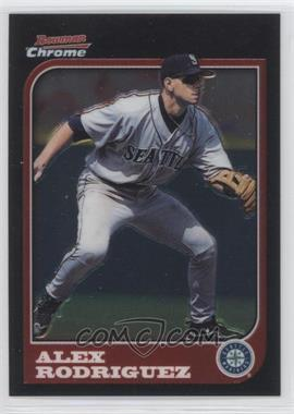 2005 Bowman Chrome Alex Rodriguez Throwbacks #97-AR - Alex Rodriguez