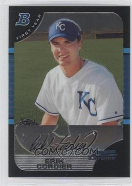 2005 Bowman Chrome #207 - Erik Cordier