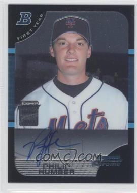 2005 Bowman Chrome #337 - First Year Autograph - Philip Humber