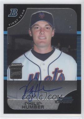 2005 Bowman Chrome #337 - Philip Humber