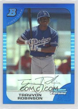 2005 Bowman Draft Picks & Prospects Chrome Blue Refractor #BDP69 - [Missing] /150