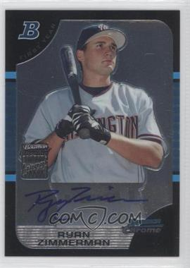 2005 Bowman Draft Picks & Prospects Chrome #BDP178 - Ryan Zimmerman