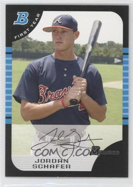 2005 Bowman Draft Picks & Prospects #BDP77 - Jordan Schafer