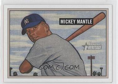 2005 Bowman Heritage #350 - Mickey Mantle