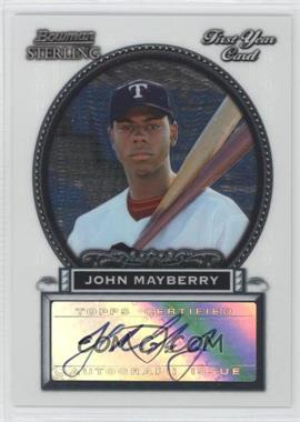 2005 Bowman Sterling #BS-JM - John Mayberry