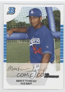2005 Bowman White #273 - Matt Kemp /240
