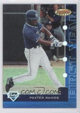 2005 Bowman's Best Blue #98 - Peeter Ramos /499