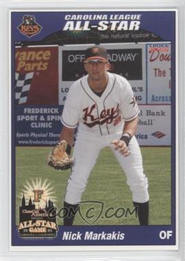 2005 Choice Carolina/California League All-Stars #01 - Nick Markakis