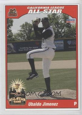 2005 Choice Carolina/California League All-Stars #41 - Ubaldo Jimenez