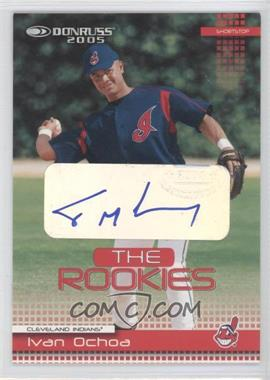 2005 Donruss - The Rookies 2004 - Autographs #38 - Ivan Ochoa