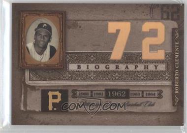 2005 Donruss Biography - Roberto Clemente Career Home Run #72 - Roberto Clemente