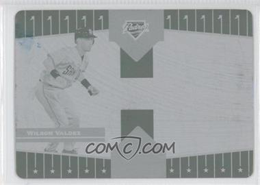 2005 Donruss Champions Printing Plate Cyan #398 - Wilson Valdez /1