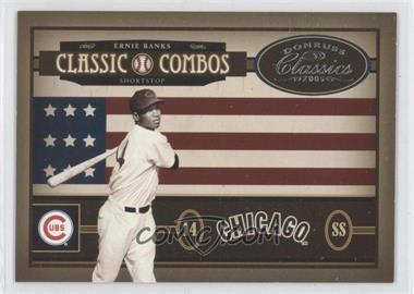 2005 Donruss Classics Classic Combos #CC-49 - Ernie Banks, Reggie Jackson /400