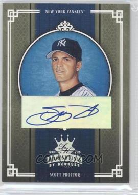 2005 Donruss Diamond Kings - [Base] - Silver Signatures [Autographed] #257 - Scott Proctor /50