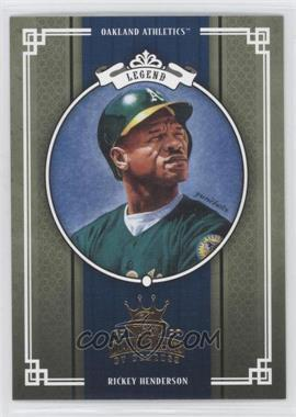 2005 Donruss Diamond Kings DK Challenge #295 - Rickey Henderson