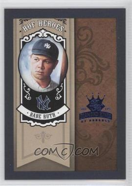 2005 Donruss Diamond Kings HOF Heroes Blue Framed #HH-65 - Babe Ruth /100