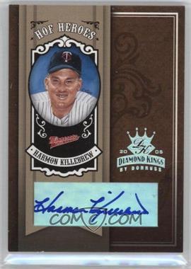 2005 Donruss Diamond Kings HOF Heroes Silver Autograph [Autographed] #HH-19 - Harmon Killebrew /5