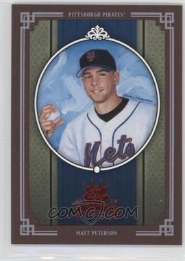 2005 Donruss Diamond Kings Red Framed #260 - Matt Peterson