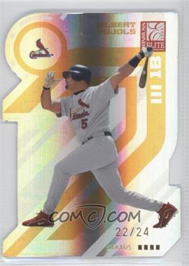 2005 Donruss Elite - [Base] - Gold Status #130 - Albert Pujols /24