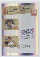 Tom Glavine, Greg Maddux, Ryan Klesko, David Justice /1500