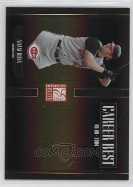 2005 Donruss Elite Career Best Black #CB-1 - Adam Dunn /150