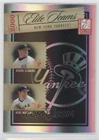 Roger Clemens, Mike Mussina, Alfonso Soriano, Bernie Williams /250