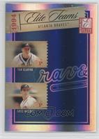 Tom Glavine, Greg Maddux, Ryan Klesko, David Justice /1000