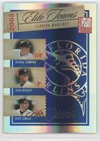 Miguel Cabrera, Josh Beckett, Mike Lowell /1000