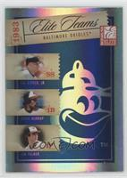 Cal Ripken Jr., Eddie Murray, Jim Palmer /1000