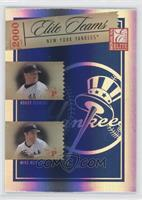 Roger Clemens, Mike Mussina, Alfonso Soriano, Bernie Williams /1000