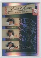 Miguel Cabrera, Josh Beckett, Mike Lowell /750