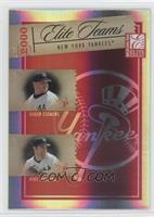 Roger Clemens, Mike Mussina, Alfonso Soriano, Bernie Williams /500
